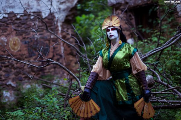 avatar kyoshi cosplay 1
