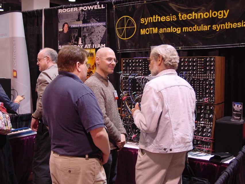 Don Buchla at NAMM 2003