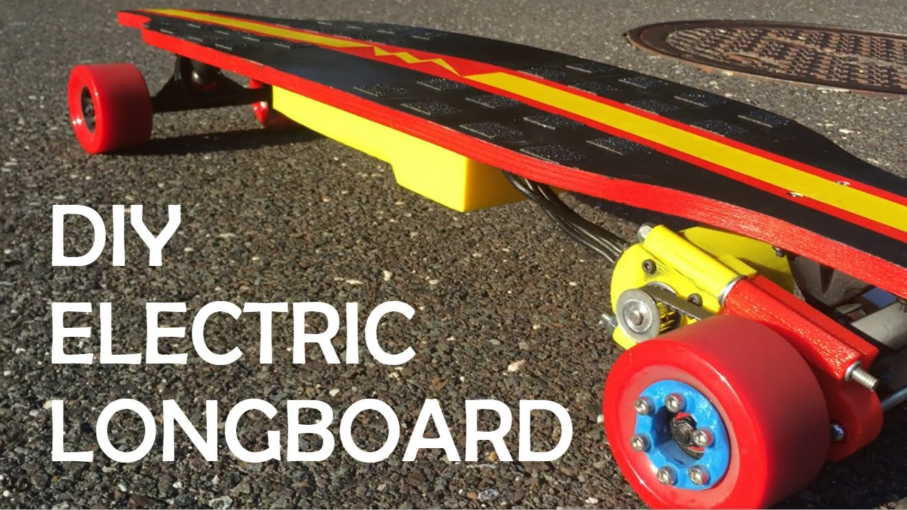 How To Build An Electric Longboard Via Mattcarl Adafruit