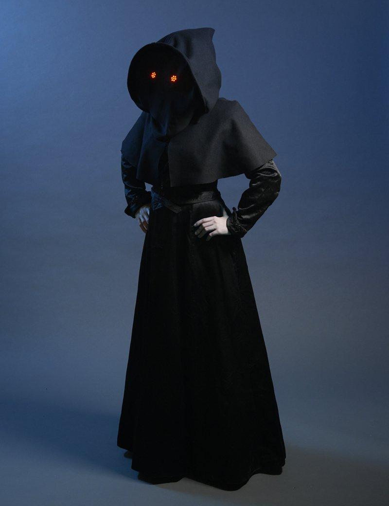 Led pixels Mystical Halloween Hood 3756