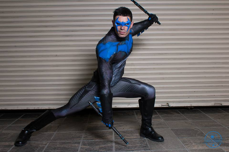 nightwing cosplay deserving of a hero  u00ab adafruit industries  u2013 makers  hackers  artists