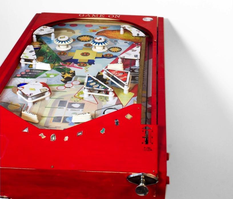 Sabrina morreale pinball machine designboom 01 818x699