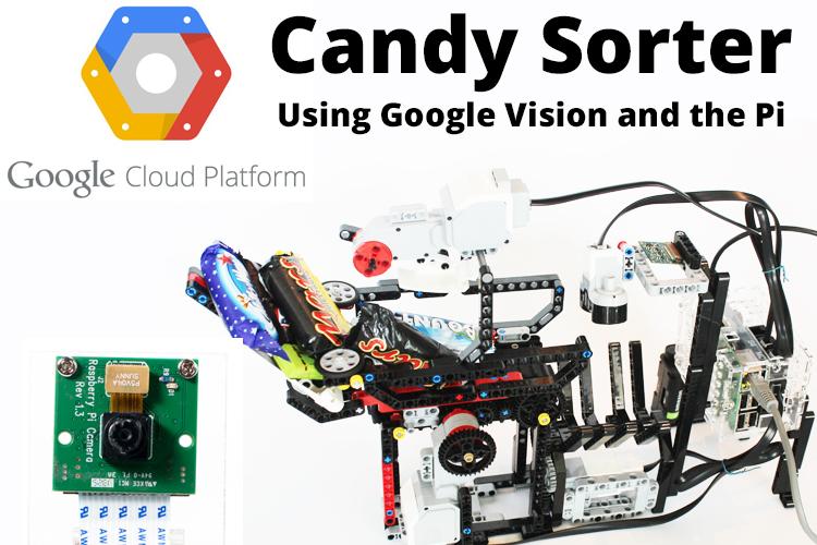 BrickPi Candy Sorter Google Cloud Vision and the Raspberry Pi Camera