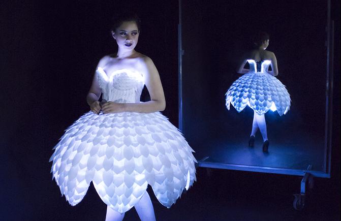 Ester Tech Dress by Flavia Rose/Ash King