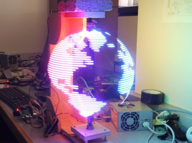 Hologram visualization Hackster io