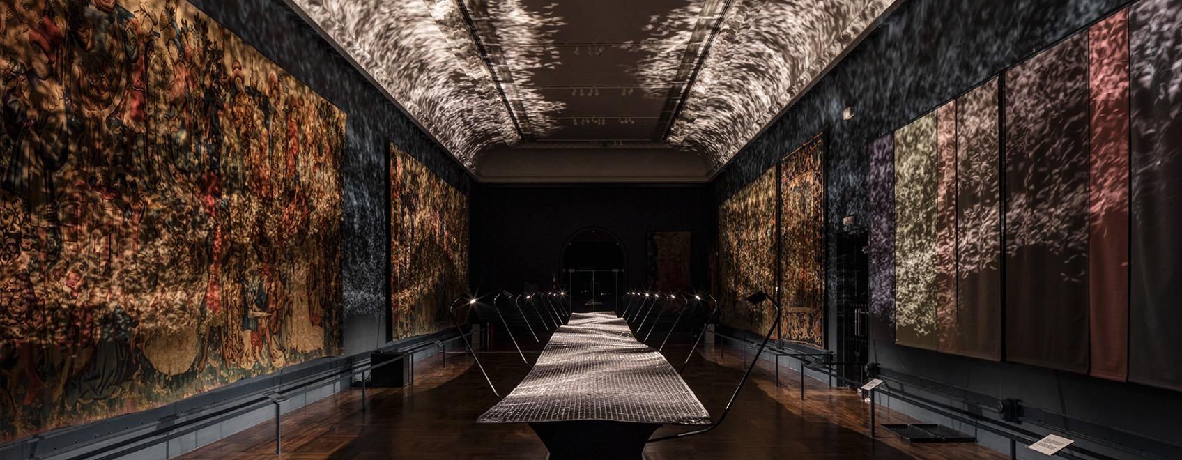Benjamin hubert braun foil london design festival designboom1800