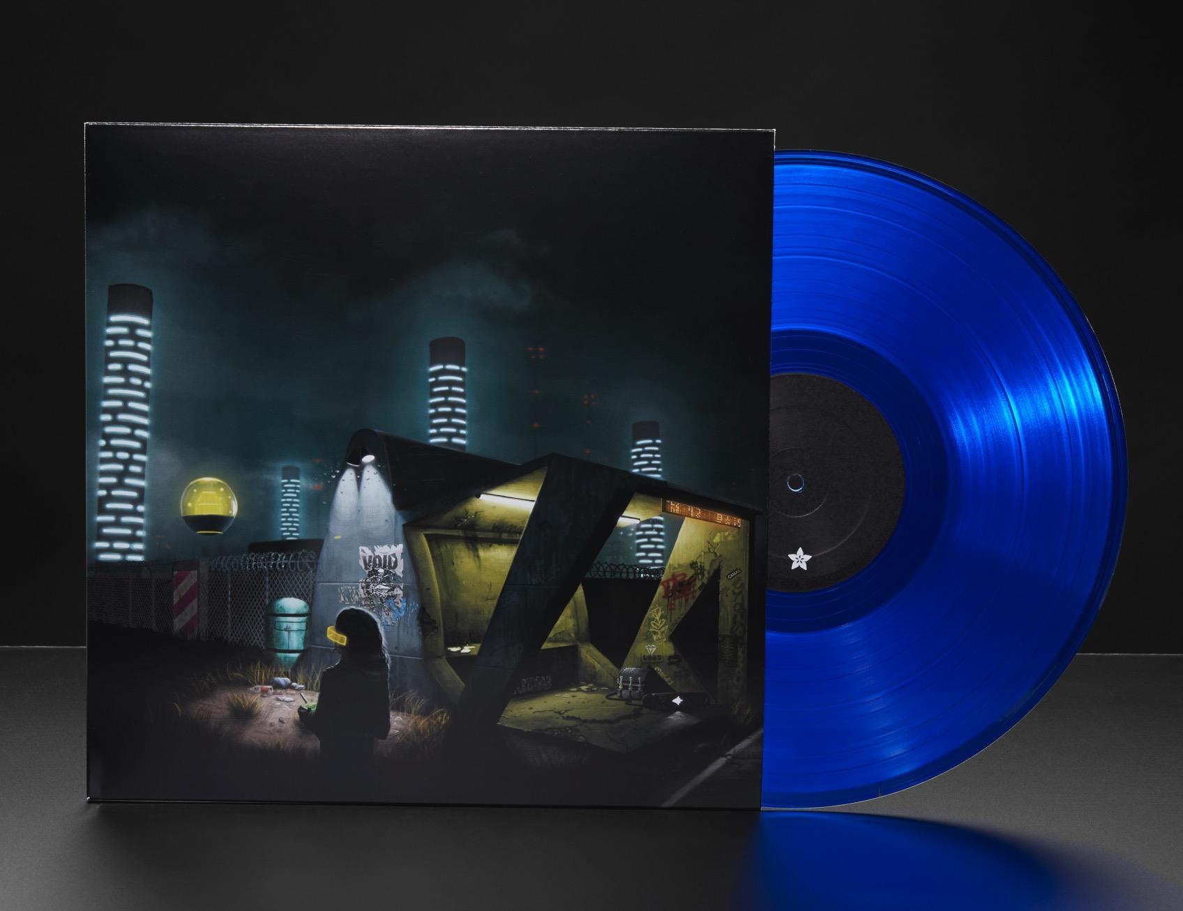 Infinity Shred Album Standing w Record ORIG