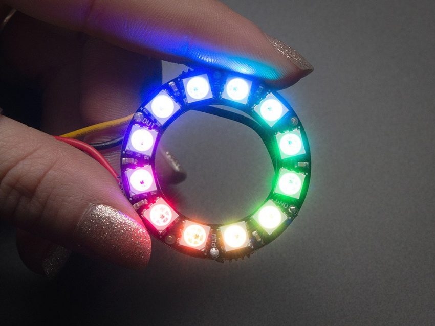 Neopixel LED Ring Small