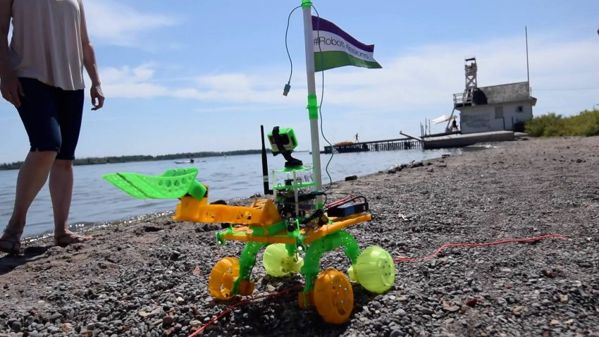 Robot Missions Beach Cleaner