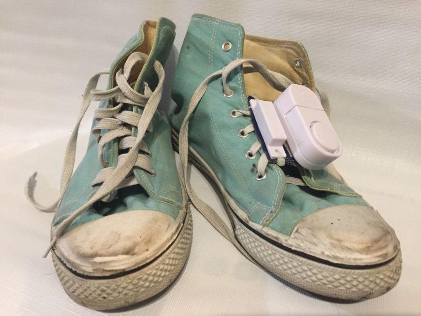 Sneaker Tech Alarm