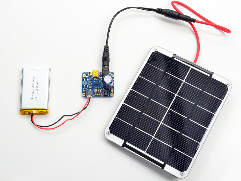 Solar Energy Battery Charger