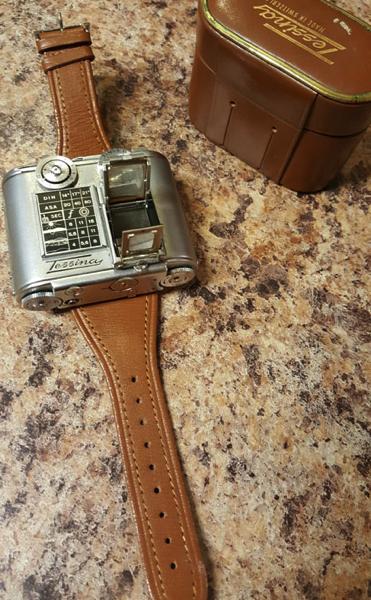 Tessina A Vintage Mini 35mm Camera You Can Wear Like a Watch