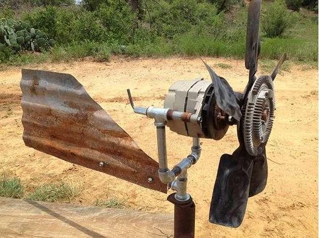 Truck Wind Turbine