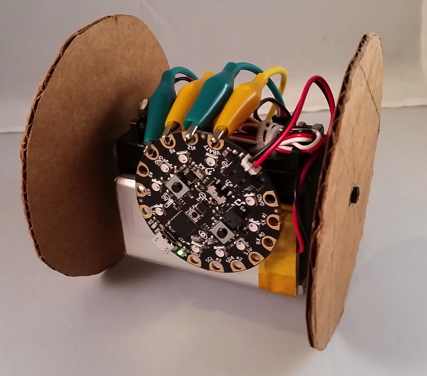 Circuit playground robot
