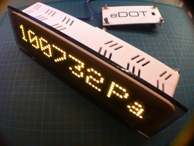 EDOT Arduino based precision clock and weather station Hackster io