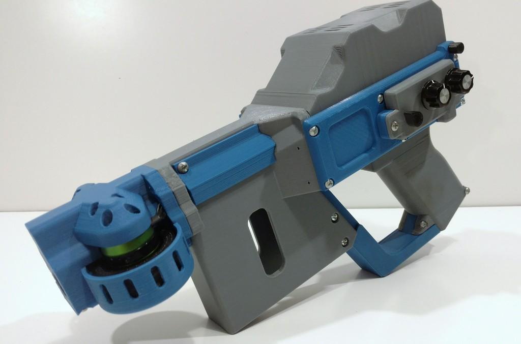 Robotic Foam Dart Lancher Is Fully Automatic #3DThursday ...