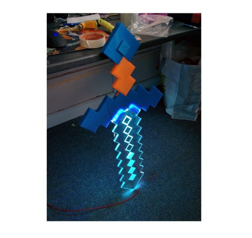 lightup-minecraft-sword