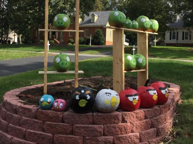 Angry Birds Pumpkin Scene Hackster io