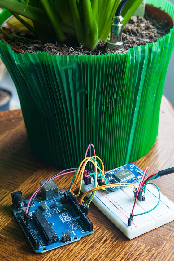 Arduino Connected Garden