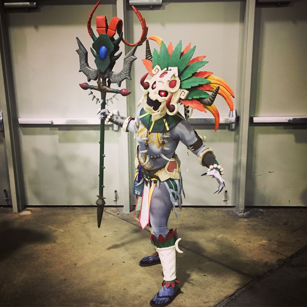 Fantastic Ah Puch Cosplay From Smite Cosplay Wearables