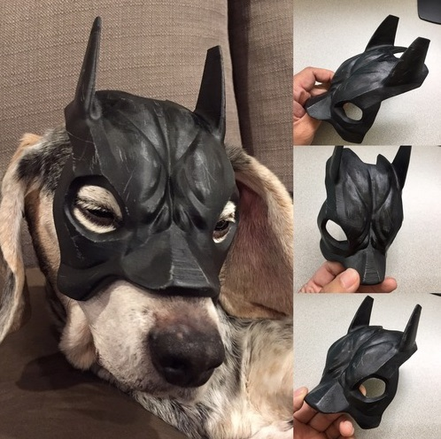 3D Printed Bat Beagle Mask by Doodle Monkey Pinshape