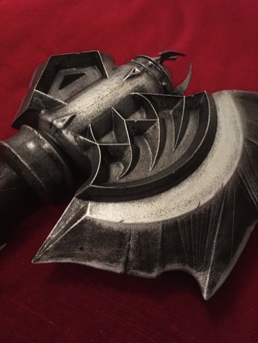 3D Printed Durotan s Axe Warcraft by Matt Kingston Pinshape