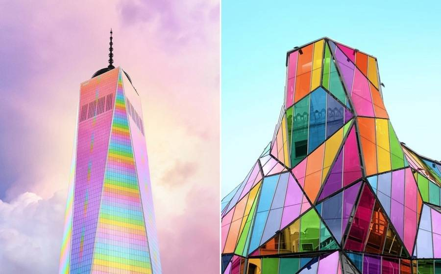Bewitching Pictures of Colorized Buildings 1 900x558