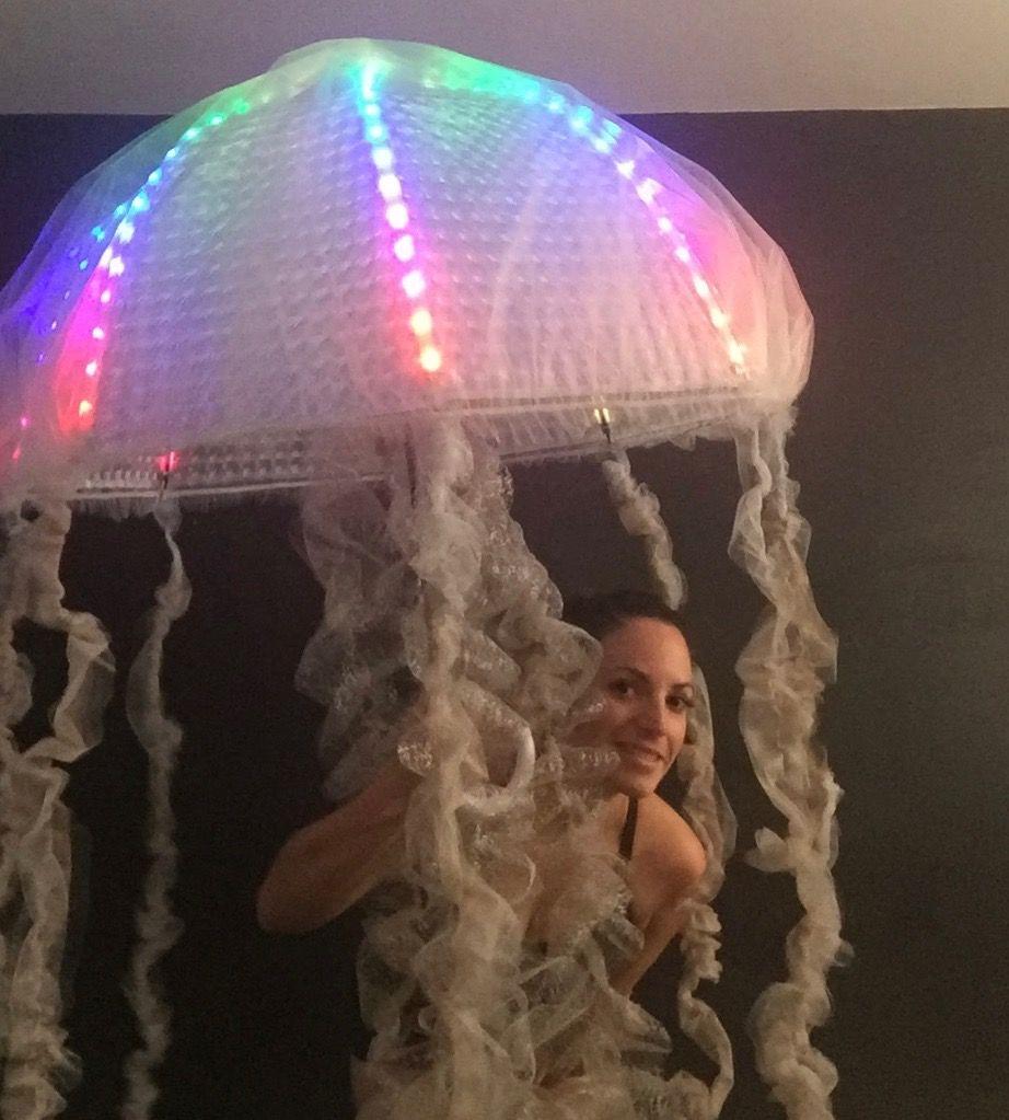 Jellyfish LED Tech Costume