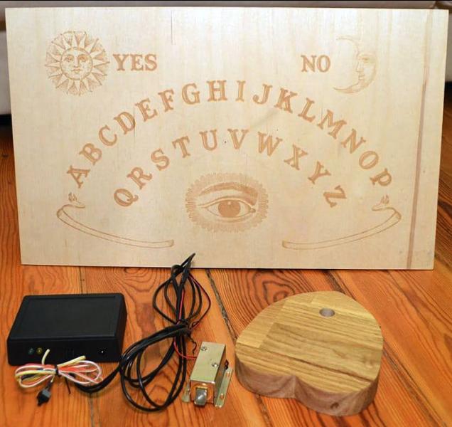 Ouija Board Access Control Hackster io