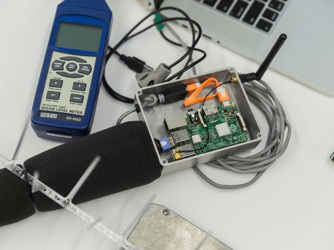 Noise Sensor Raspberry Pi