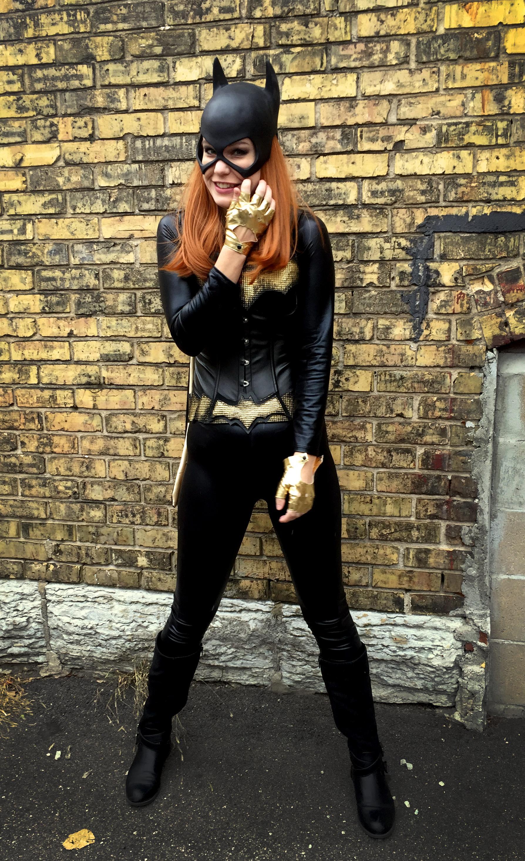 Kitbashed Batgirl Costume « Adafruit Industries - Makers ...