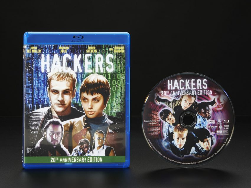 Hackers Movie Blu-ray