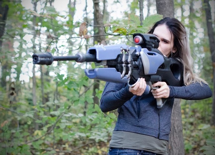 3D Printed Widowmaker s Widow s Kiss Collapsible Sniper Rifle Overwatch by laellee Pinshape