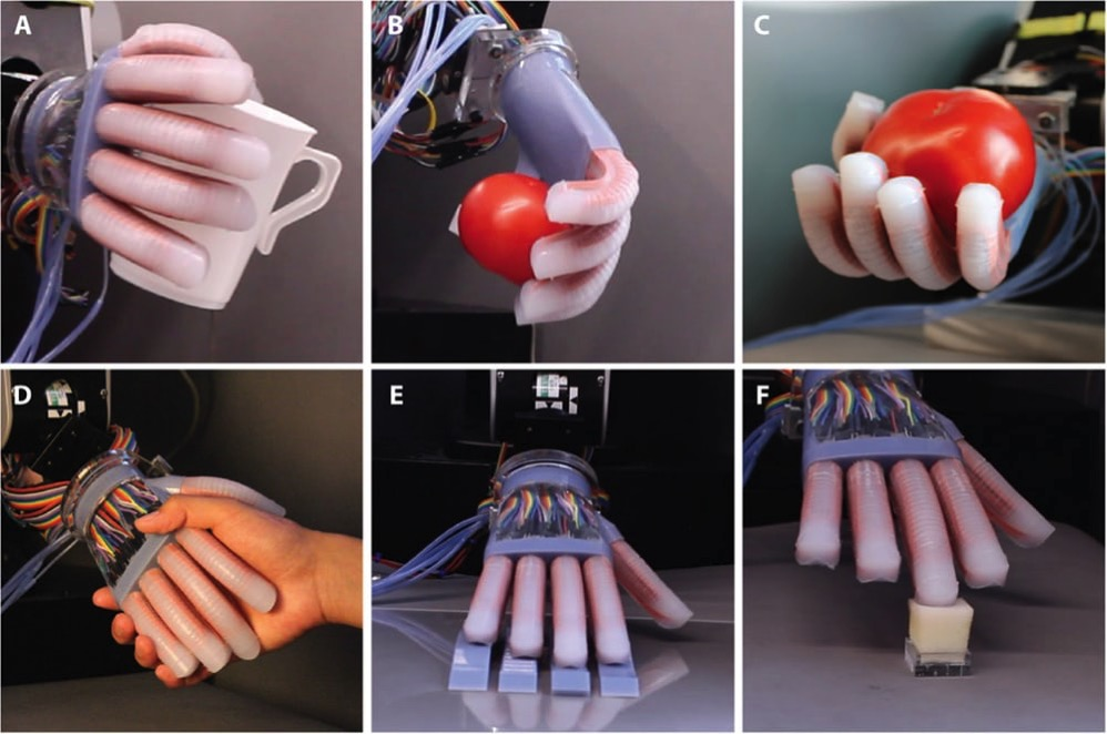 Flexible robot hand 7