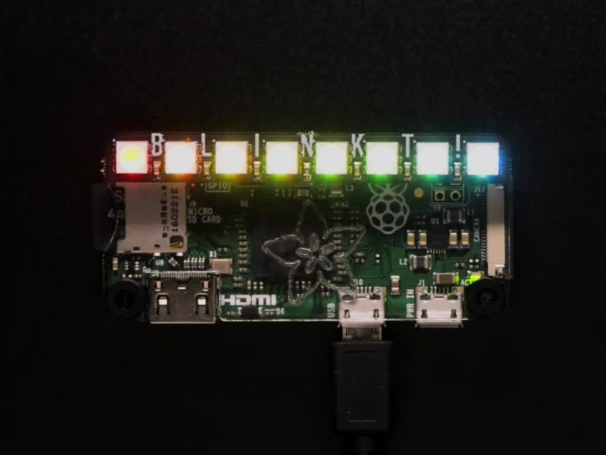 Rainbow LEDs for RaspberryPi