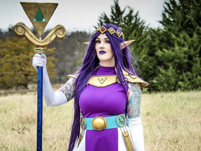 Zelda Princess Hilda Staff with Arduino