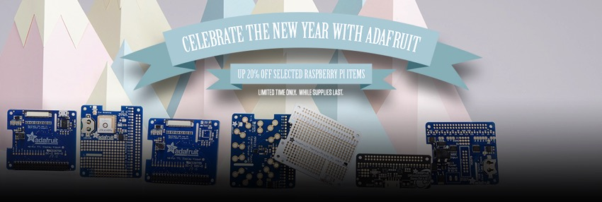 Adafruit raspberry pi sale blog