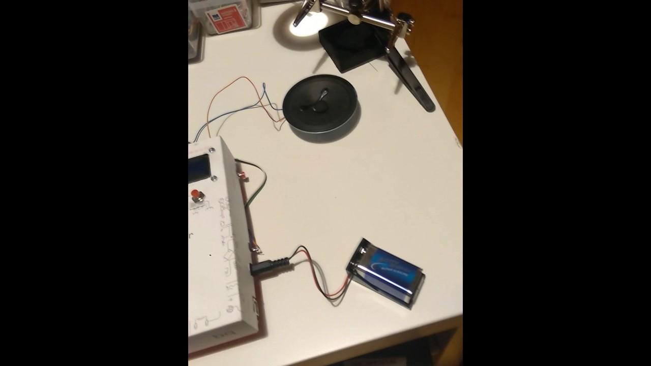 Arduino music player with motion sensor arduinomonday