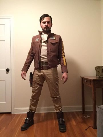 As with just about every film fans were working on costumes long before the release of Rogue One. They used images from trailers key art ...  sc 1 st  Adafruit Blog & Rogue One Cassian Andor Costume « Adafruit Industries u2013 Makers ...