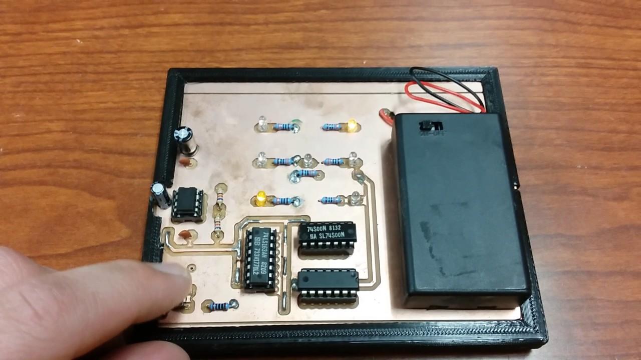 Digital Dice 3dthursday 3dprinting Adafruit Industries Makers Electronic Circuit Hackers Artists Designers And Engineers