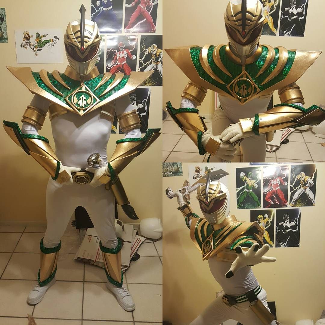 Arduino: Mighty Morphin' Power Rangers Evil White Ranger Costume