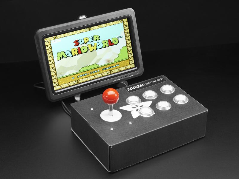 New Tutorial Arrow Presents Raspberry Pi Arcade Cabinet