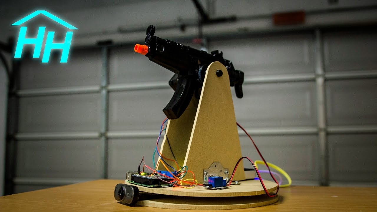 How To Make A Raspberry Pi Motion Tracking Airsoft Nerf