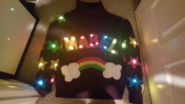 Brake System Parts >> Gravity Falls Light-Up Mabel Pines Sweater « Adafruit ...
