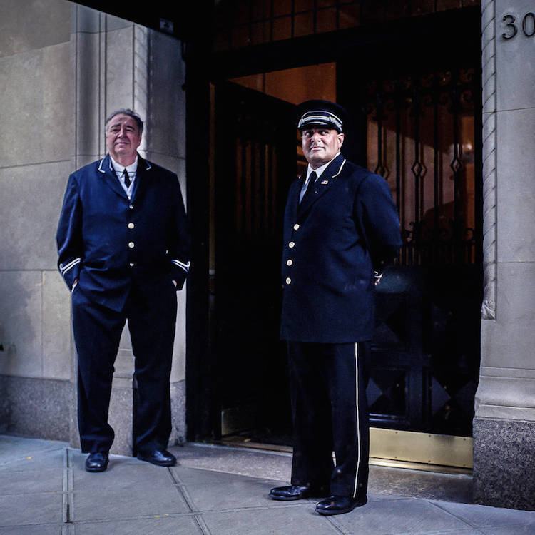 Sam golanski new york doormen1