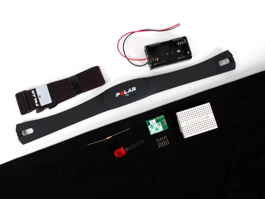 Heart Rate Pack with Polar Wireless Sensors