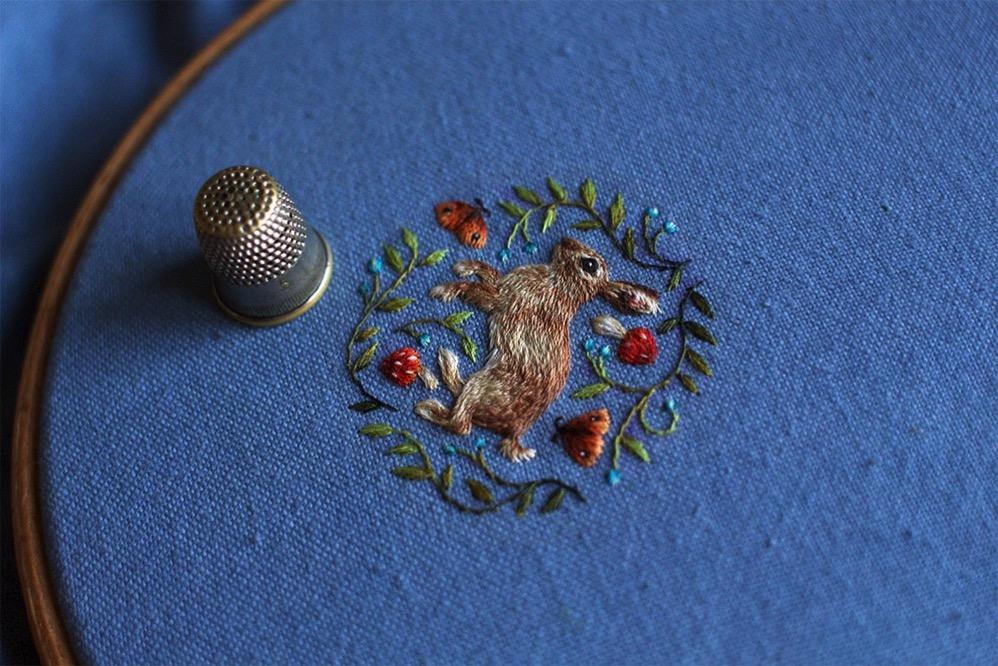 Chloe Giordano coser miniaturas 4
