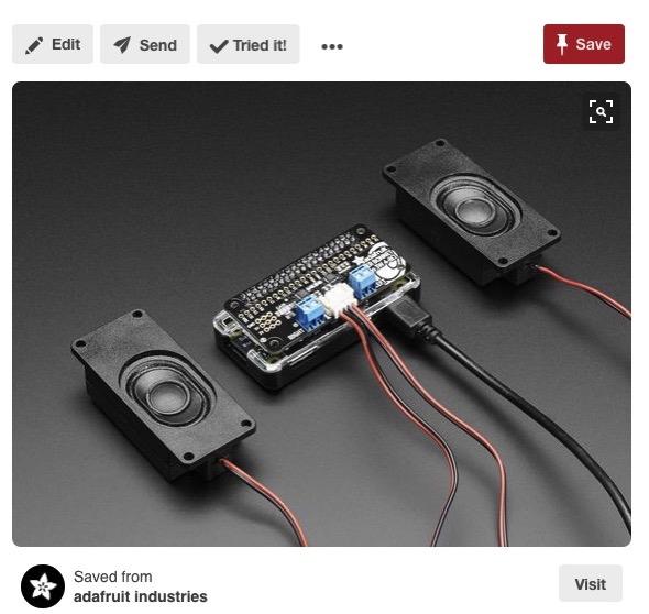 18 Stereo Bonnet Pack for Raspberry Pi Zero Includes Pi Zero v1 3 Raspberry Pi Pinterest