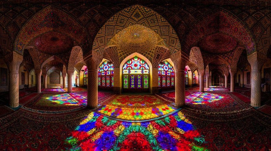 Nasir al mulk mosque shiraz iran 12