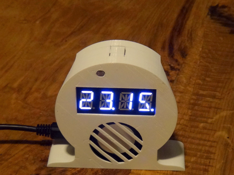IoT Smart Alarm Clock Open Source by fgebhart Thingiverse